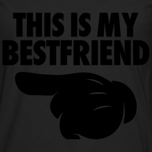 This Is My Bestfriend (Pointing Left) Women's T-Shirts - Men's Premium Long Sleeve T-Shirt