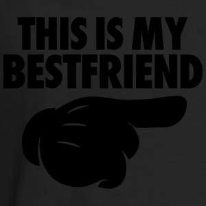This Is My Bestfriend (Pointing Right) Women's T-Shirts - Men's Premium Long Sleeve T-Shirt