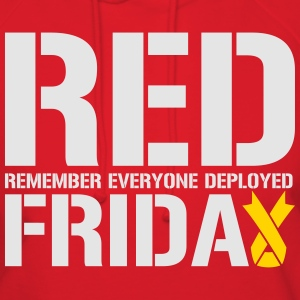 Red Friday Remember Everyone Deployed - Women's Hoodie