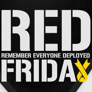 Red Friday Remember Everyone Deployed - Bandana