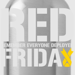 Red Friday Remember Everyone Deployed - Water Bottle