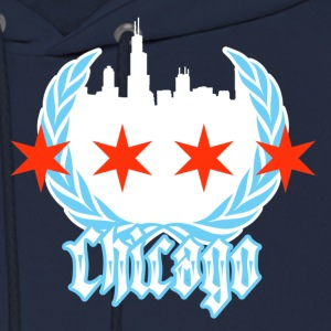 Chicago Flag - Men's Hoodie