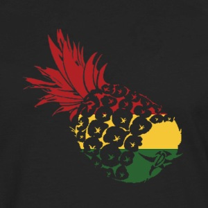 Rasta pinapple  T-Shirts - Men's Premium Long Sleeve T-Shirt