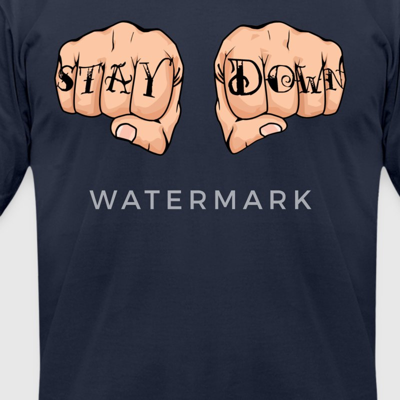 Corey Graves - Stay Down - Men's T-Shirt by American Apparel