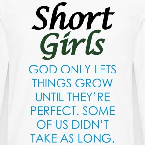 Short Girls T-Shirt - Men's Premium Long Sleeve T-Shirt