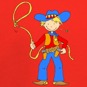Cowboy with Lasso Bags & backpacks - Kids' Premium Hoodie