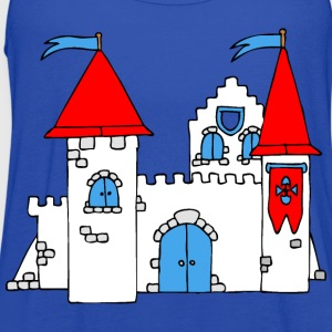 Medieval Castle T-Shirts - Women's Flowy Tank Top by Bella