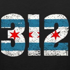 312 Chicago Flag Shirts, Hoodie, Apparel, Clothing Hoodies - Men's Premium Tank