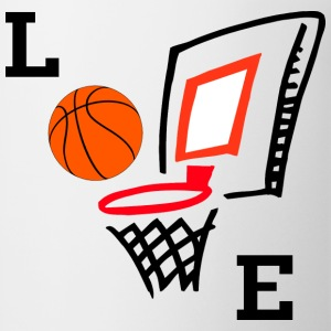 Love Basketball T-Shirt - Coffee/Tea Mug