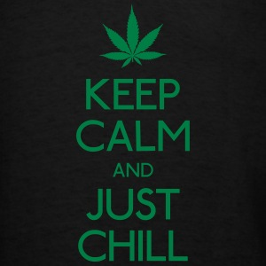 Keep Calm and just chill Bags & backpacks - Men's T-Shirt
