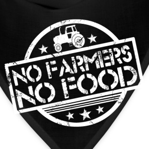 no_farmers_no_food T-Shirts - Bandana