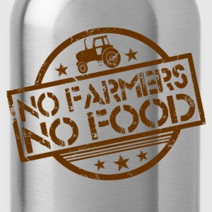 no_farmers_no_food T-Shirts - Water Bottle