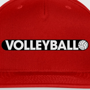 Play Volleyball Women's T-Shirts - Snap-back Baseball Cap