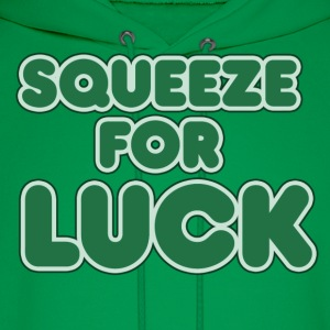 Squeeze for LUCK - Men's Hoodie