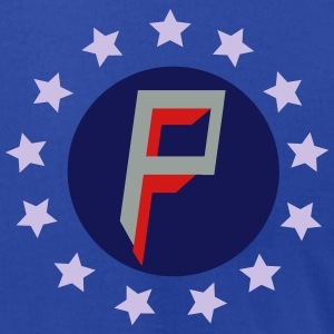 privatefreedom.org with chevron Polo Shirts - Men's T-Shirt by American Apparel