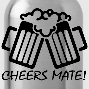 Cheers Mate! T-Shirts - Water Bottle