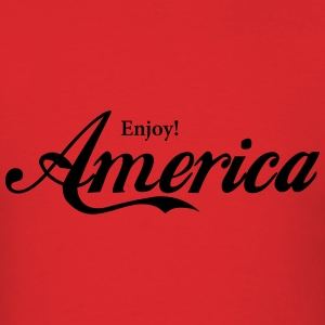 Enjoy America Hoodies - Men's T-Shirt
