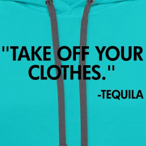 Tequila T-Shirts - Contrast Hoodie