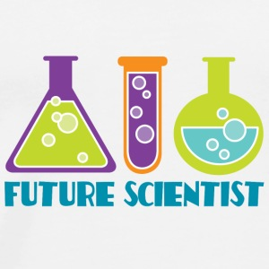 Future Scientist Kids Baby & Toddler Shirts - Men's Premium T-Shirt