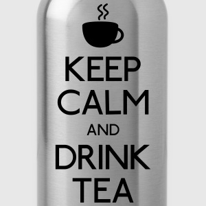keep calm drink tea T-Shirts - Water Bottle