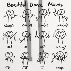 Beautiful Math Dance Moves T-Shirts - Contrast Hoodie