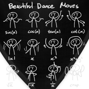 Beautiful Math Dance Moves T-Shirts - Bandana
