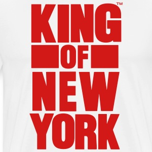 KING OF NEW YORK Hoodies - Men's Premium T-Shirt