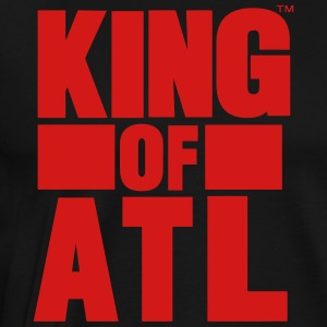 KING OF ATL (ATLANTA) Hoodies - Men's Premium T-Shirt