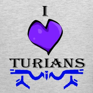 I Heart Turians Women's T-Shirts - Men's Premium Tank