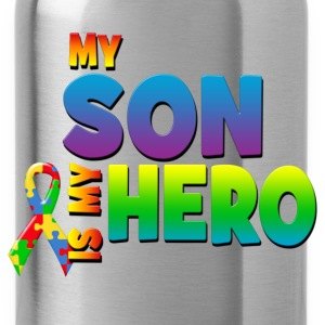 My Son Is My Hero T-Shirts - Water Bottle
