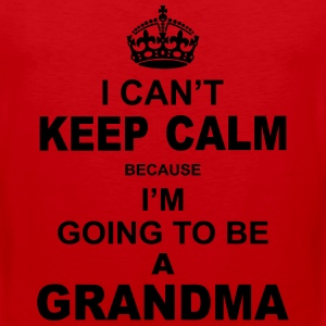 ....i am going to be a Grandma Women's T-Shirts - Men's Premium Tank