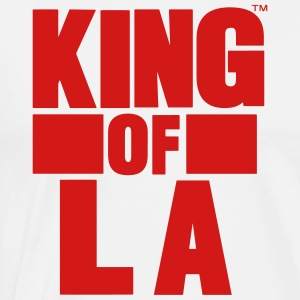 KING OF LA Hoodies - Men's Premium T-Shirt