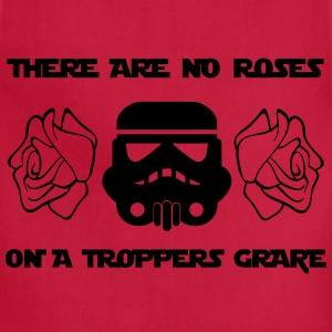 THERE ARE NO ROSES ON A TROPPERS GRAVE - Adjustable Apron