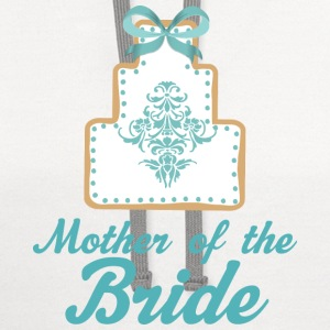 Mother of the Bride (Wedding Cake) Women's T-Shirts - Contrast Hoodie