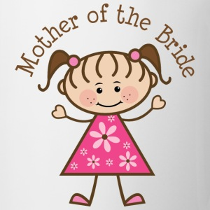 Mother of the Bride (Stick Figure) Women's T-Shirts - Coffee/Tea Mug