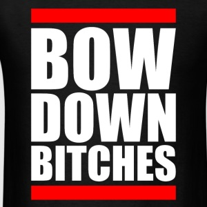 BOW DOWN Long Sleeve Shirts - Men's T-Shirt