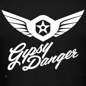 Pacific Rim: Gypsy Danger Hoodie (Design on Back) - Men's T-Shirt