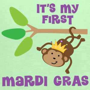 1st Mardi Gras (monkey) Baby & Toddler Shirts - Women's Flowy Tank Top by Bella
