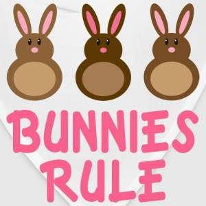 Easter Bunnies Rule T-shirt - Bandana