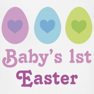 Baby's 1st Easter Baby Shirt - Adjustable Apron