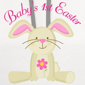 Baby's 1st Easter Kids' Shirts - Contrast Hoodie
