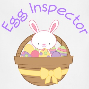 Easter Bunny Egg Inspector Kids' Shirts - Adjustable Apron