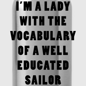Well Educated Sailor Nerdgasm Women's T-Shirts - Water Bottle