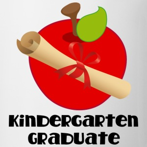 Kindergarten Graduate Diploma Kids' Shirts - Coffee/Tea Mug