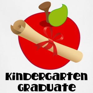 Kindergarten Graduate Diploma Kids' Shirts - Adjustable Apron