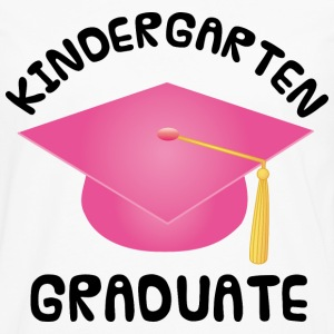 Girls Kindergarten Graduation Kids' Shirts - Men's Premium Long Sleeve T-Shirt