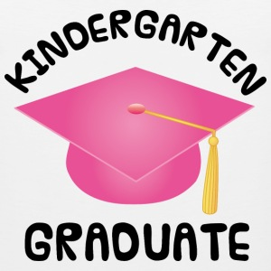 Girls Kindergarten Graduation Kids' Shirts - Men's Premium Tank