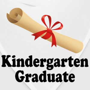 Kindergarten Graduation Diploma Design Kids' Shirts - Bandana