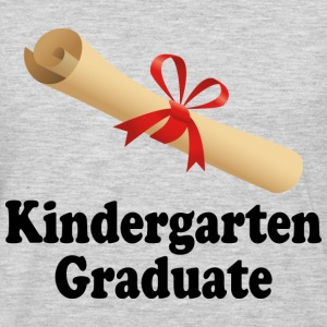 Kindergarten Graduation Diploma Design Kids' Shirts - Men's Premium Long Sleeve T-Shirt