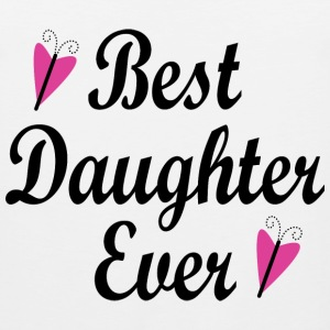 Best Daughter Ever Kids' Shirts - Men's Premium Tank